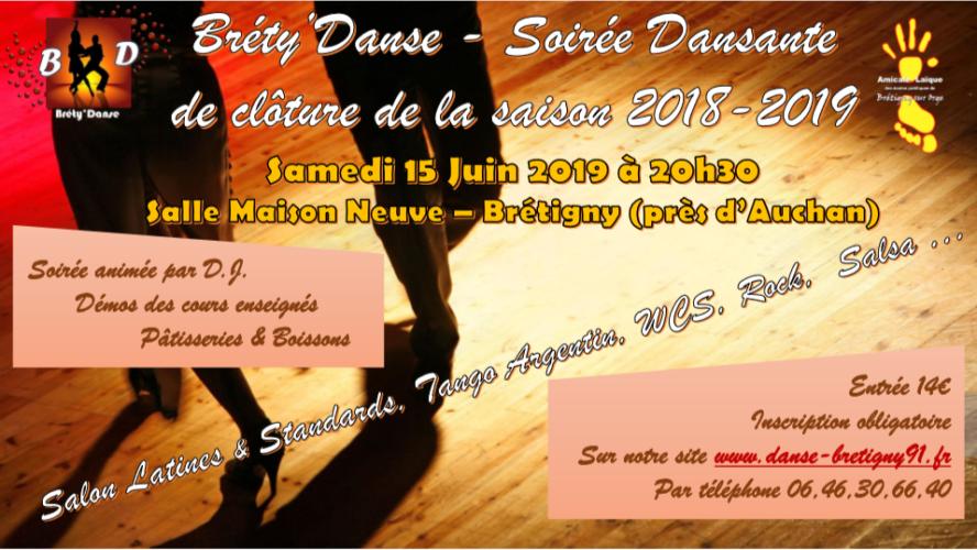 SOIRÉE DANSANTE BRETY'DANSE